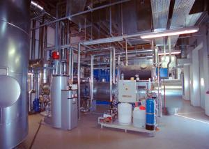 Die einzige je gebaute Biogas-BHKW-Anlage mit Abgasrückführung über einen Abhitzedampfkessel.